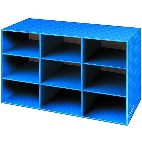 Bankers Box Classroom 9 Compartment Cubby Storage 16u0026quot;H X 28 1/4u0026quot;