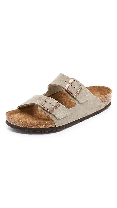Amazon Birkenstock Arizona Soft Footbed Leather Sandal Sandals
