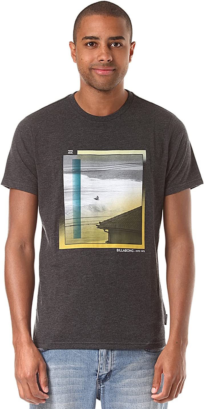 g.s.m. Europe – BILLABONG Hombre Roof té SS Camisetas y camisas, hombre,Gris (Dark grey heather), L: Amazon.es: Ropa y accesorios