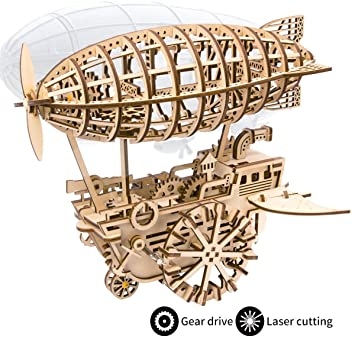 Puzzles 3d Diy Laser Cutting Wooden Puzzle Woodcraft Puzzle Gmes Toy Assembly Kit 9 Running Fire Rubber Band Gun For Christmas Gift Toys & Hobbies