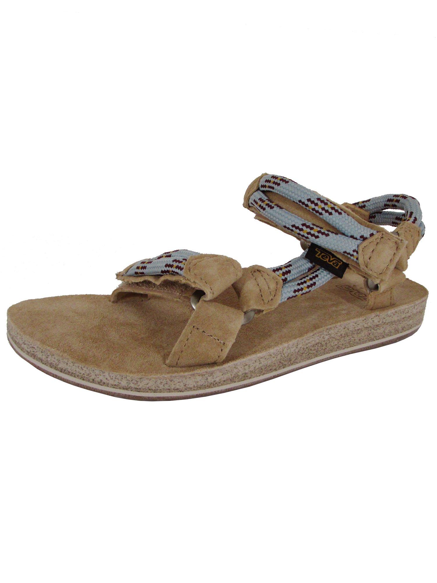 Teva Womens Original Universal Rope Sport Sandal Shoes, Canal Blue, US 5