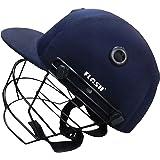 Flash Men's Cricket Helmet PRACTICE (Full, Blue)
