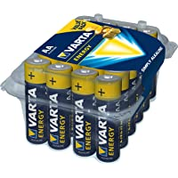 Varta 4106229224 VARTA Energy Alkaline Batteries AA 1.5V 24 Pack