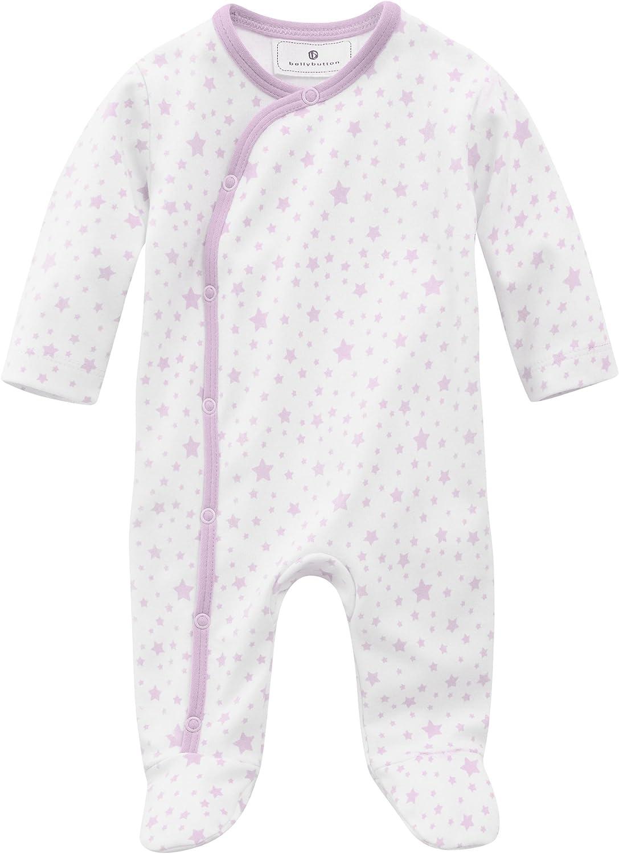 Bellybutton Kids Baby M/ädchen Strampler Schlafstrampler mit Sternen 10962-30040