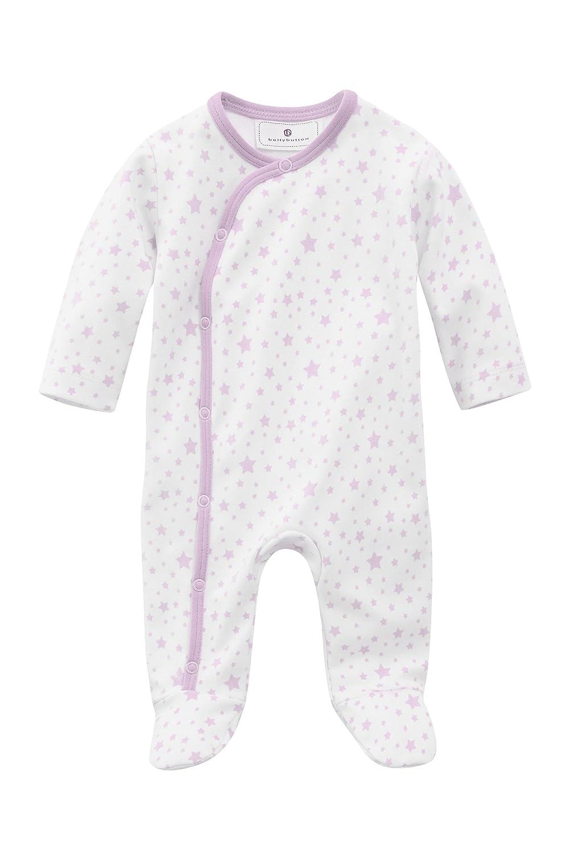 bellybutton Unisex Baby 1/1 Sleeves Starred Romper Pink (Stars Rose/Purple) 10962-30040-68