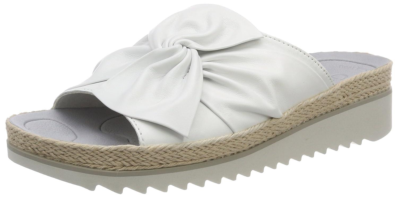 Gabor Shoes Gabor Jollys, Mules para Mujer 37 EU|Blanco (Weiss Hellgrau)