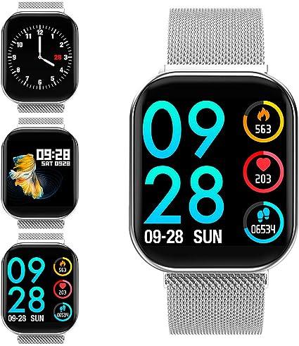 Amazon.com: ZKCREATION - Reloj inteligente con monitor de ...