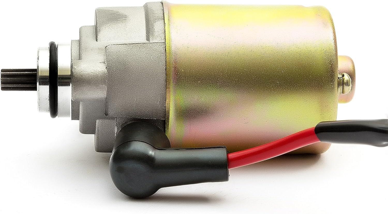 KYMCO Agility 50/cc Starter Moteur Baotian Qt-9/Qt-7/T12/Qt-11/Pulse Scout Speedy