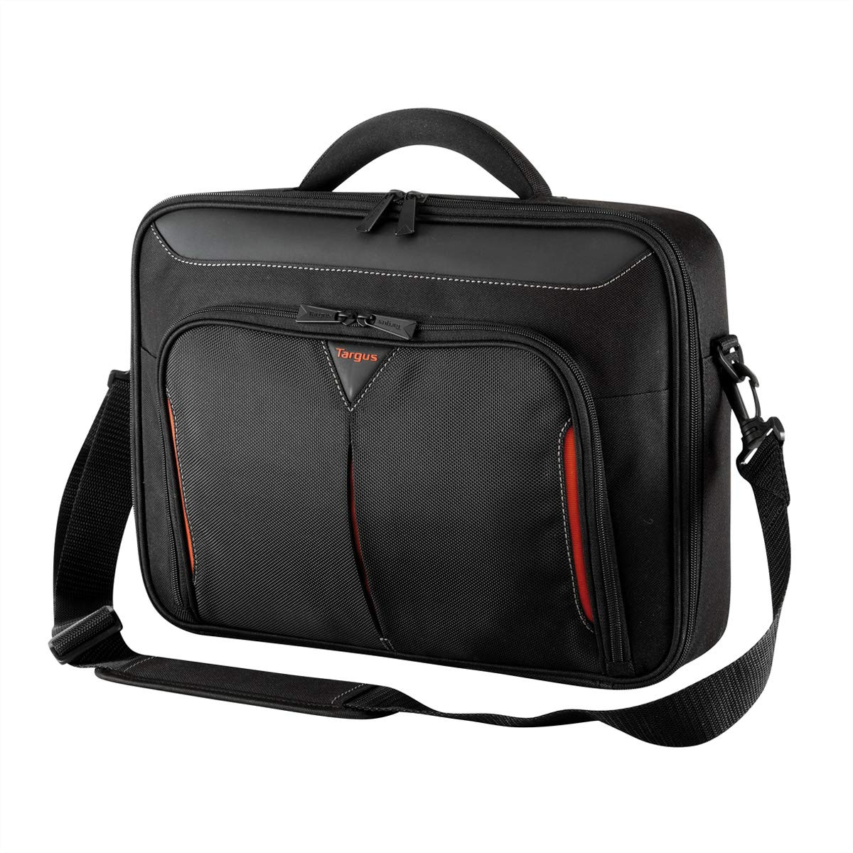 8a35e0047a7 Targus Classic Clamshell 15.6-Inch Laptop Case, Black/Red (CN415EU):  Amazon.co.uk: Computers & Accessories