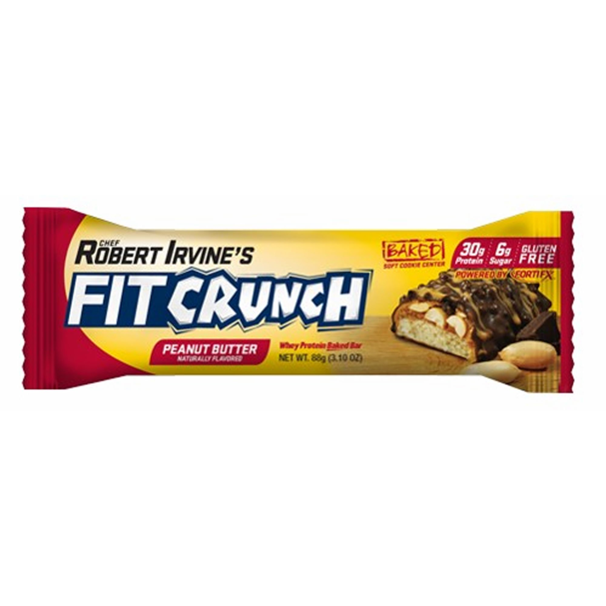 FITCRUNCH ( 2 PACK SUPER SAVER ) Snack Size Protein Bars | Designed by Robert Irvine | World's Only 6-Layer Baked Bar | Just 3g of Sugar & Soft Cake Core (18 Snack Size Bars