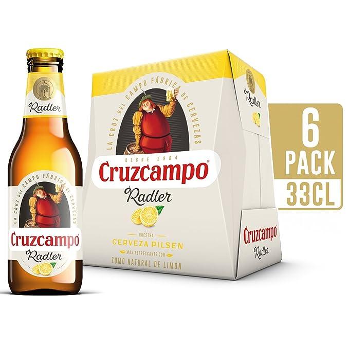 Cruzcampo Radler Limon Cerveza - Pack de 6 Botellas x 250 ml - Total: 1.5 L: Amazon.es: Amazon Pantry