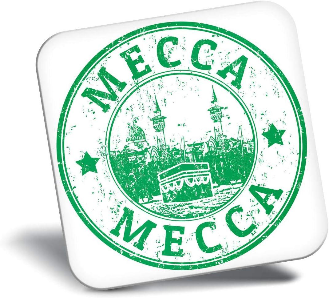 Destination Vinyl ltd Awesome Fridge Magnet - Awesome Mecca Saudi Arabia Travel 4723