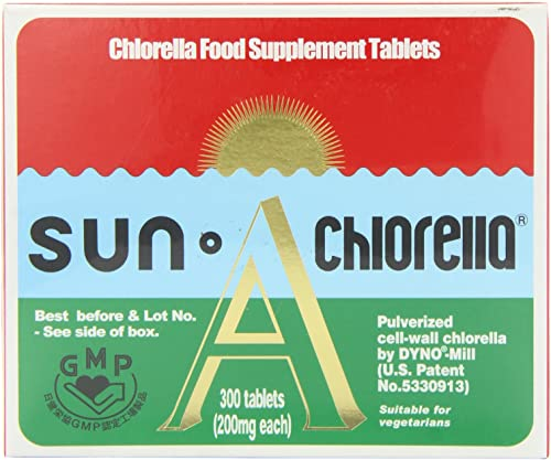 Sun Chlorella A – Pack of 300 Tablets by Sun Chlorella