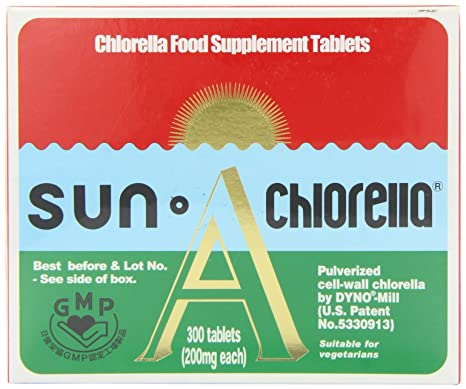 Sun Chlorella A - Pack of 300 Tablets
