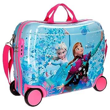Disney Frozen 4199961 Equipaje infantil, Maleta 50 Centímetros, 34 Litros, Multicolor, Elsa y Anna: Amazon.es: Equipaje
