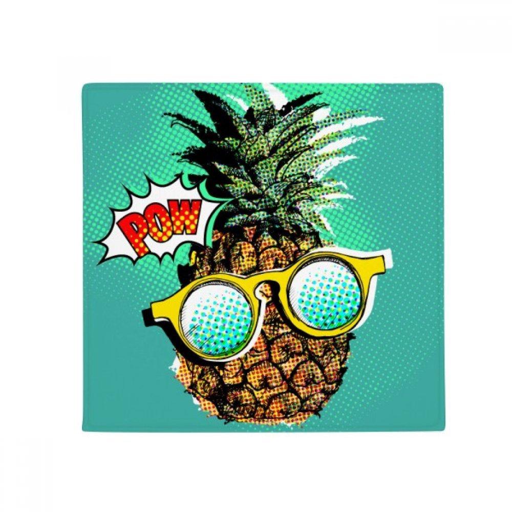 DIYthinker American Comic Style Pineapple Fruit Anti-Slip Floor Pet Mat Square Home Kitchen Door 80Cm Gift