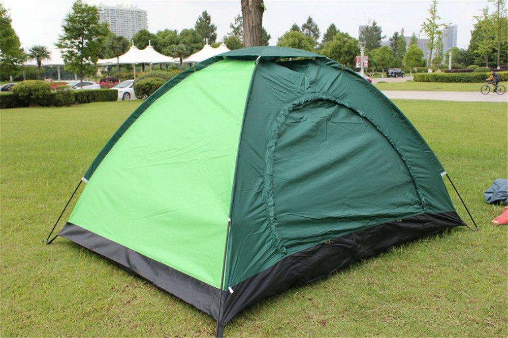 HONEYY Doppelklicken Sie auf Stock Outdoor Camping Regen UV-Zelte Zelte Geschenk 200 × 145 × 110 cm,
