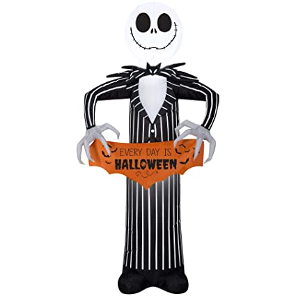 halloween inflatable disney 5 jack skellington the nightmare before christmas airblown decoration