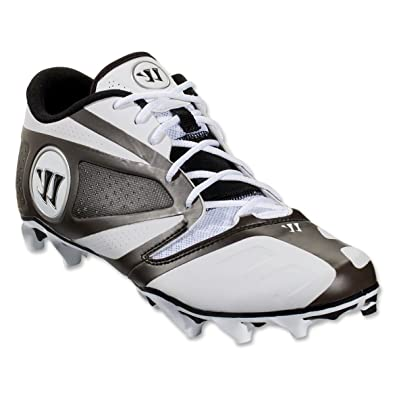 5da7176d5f67 Image Unavailable. Image not available for. Color: Warrior Burn 7.0 Low Lacrosse  Cleats - White/Black