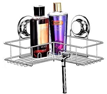 Amazon.com: Briofox - Estantería esquinera para ducha: Home ...