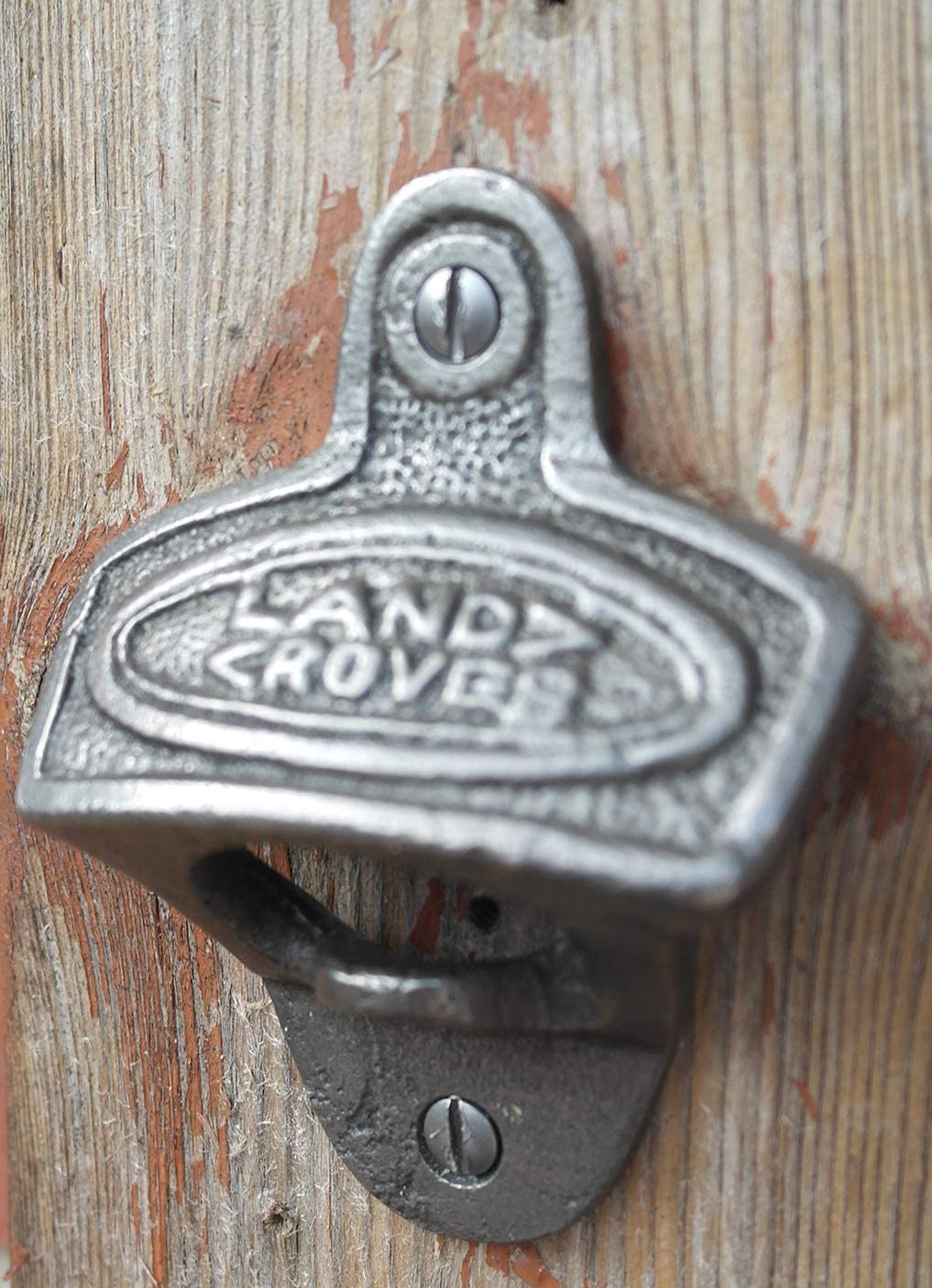 Cast Iron antique style Land Rover Bottle Opener
