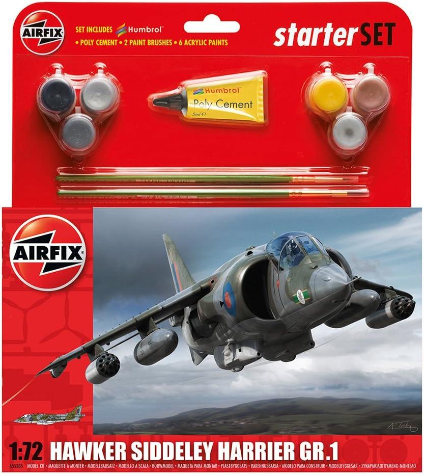 Airfix - Kit Mediano con Pinturas, avión Hawker Typhoon (Hornby A55205)