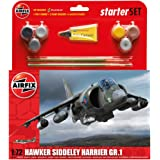 Airfix A55205 1:72 Hawker Harrier GR1 Starter Aircraft Model Set