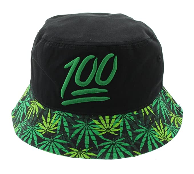 5c9148982f8 Keep It 100 Mary Jane Print Weed Bucket Hat at Amazon Men s Clothing store