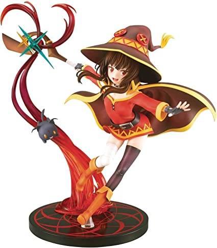 Amazon Com Sol International Konosuba Megumin Explosion Magic Version 1 7 Scale Pvc Figure Toys Games