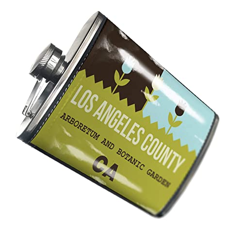 Amazon com | NEONBLOND Flask US Gardens Los Angeles County