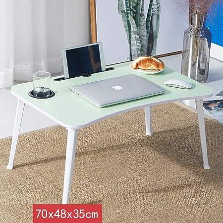 mesa plegable ZB Hogar Plegable Mesa Pequeña Computadora ...