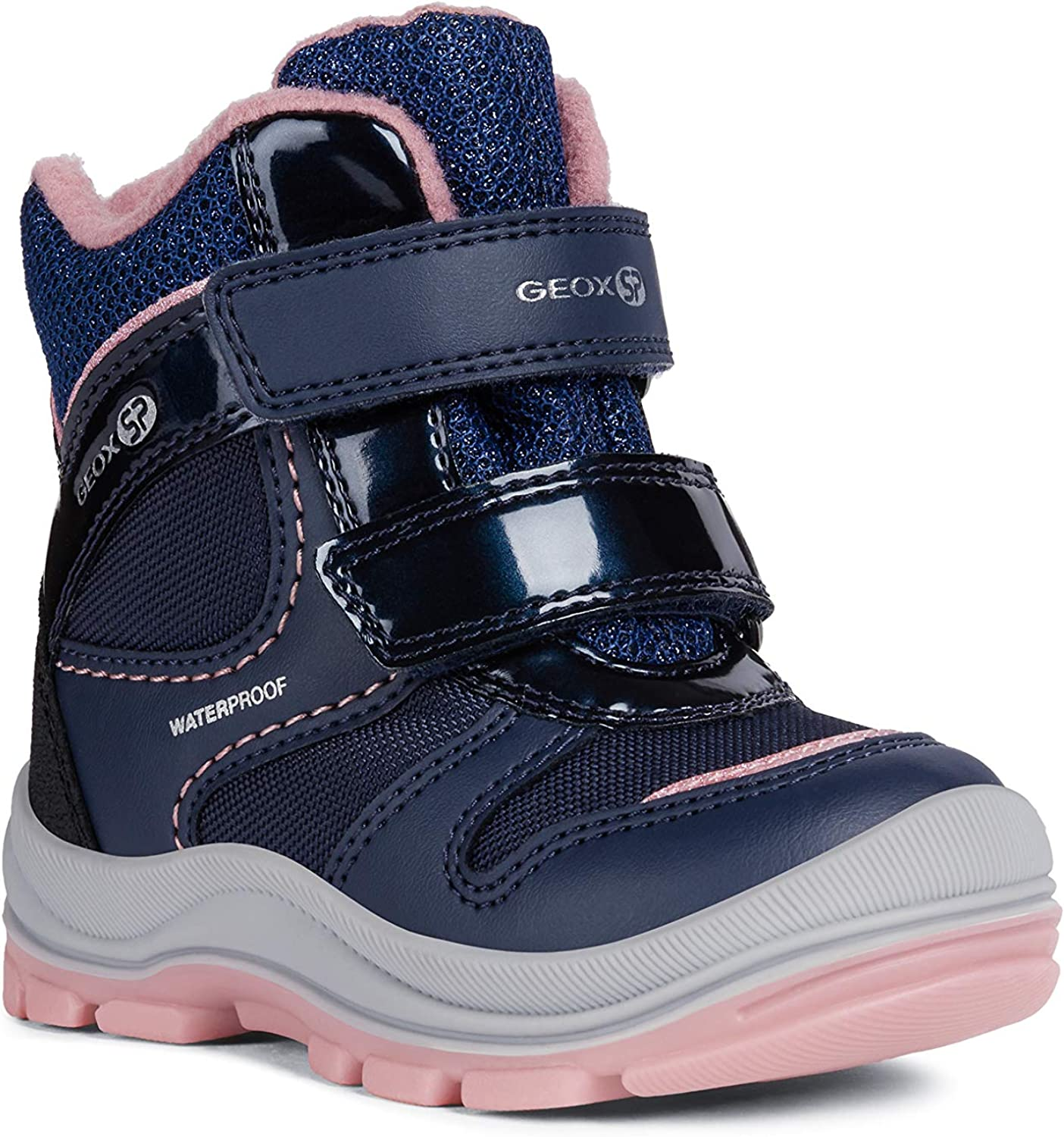 various styles fast delivery preview of Amazon.com | Geox Girls' TRIVOR BOY 1 Waterproof Boots Riptape ...