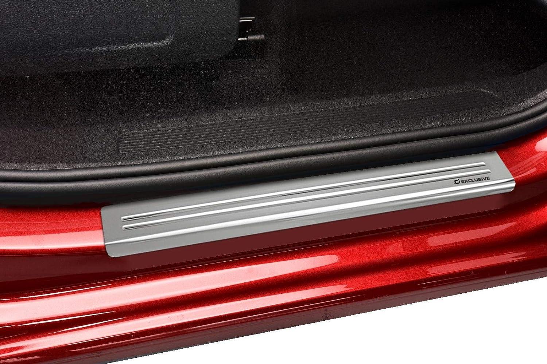 SUV 5-2 LINE Croni Edelstahl Einstiegleisten kompatibel mit Volkswagen Tiguan II 2016