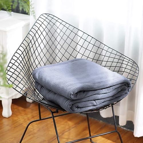 Polar Fleece Electric Heated Blanket Twin Size 62'' x 84'' Full Body Warming Premium Microfiber Sofa Blanket