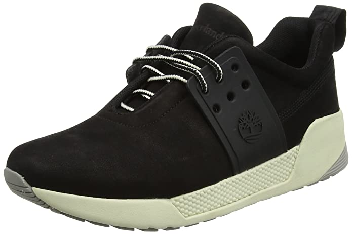 Timberland Kiri Up Leather, Zapatos de Cordones Oxford para Mujer, Negro (Black 001), 37.5 EU