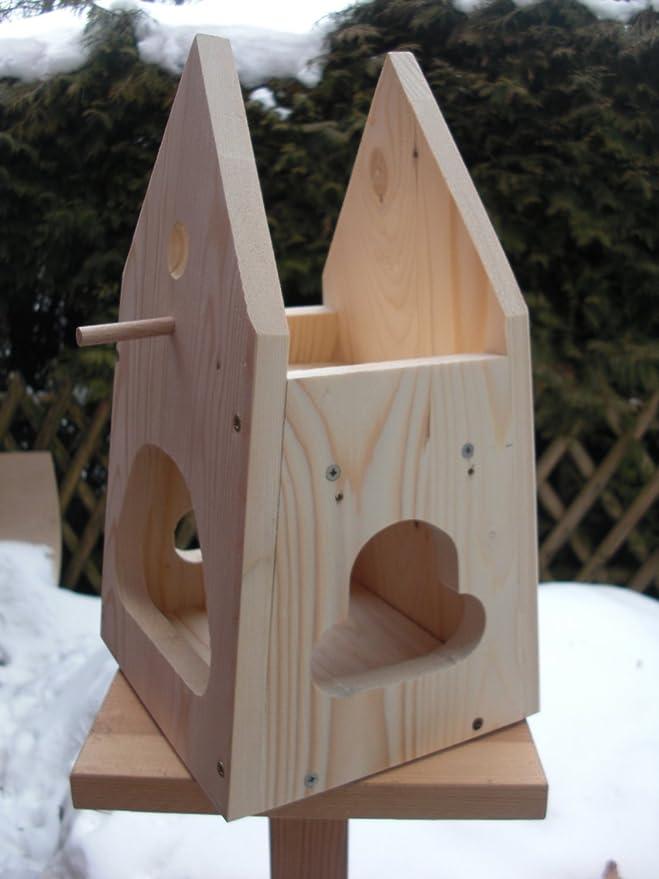 Dekorativer Nistkasten(NB1)-mit Vogelfutterhaus zum selbst bauen ...