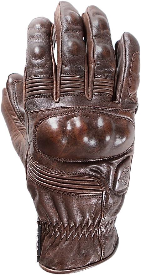 guantes de piel para moto café racer