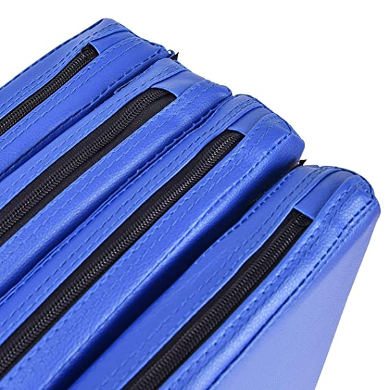 Blue Pole Dancing Fitness Mat Faux Leather Home Gymnastics Crash Safety Pad 2/""