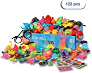 Party Favors Kids - Carnival Prizes Toys Bulk - Pinata Filler Toy Assortment - Boys Girls Birthday Halloween Box - Classroom