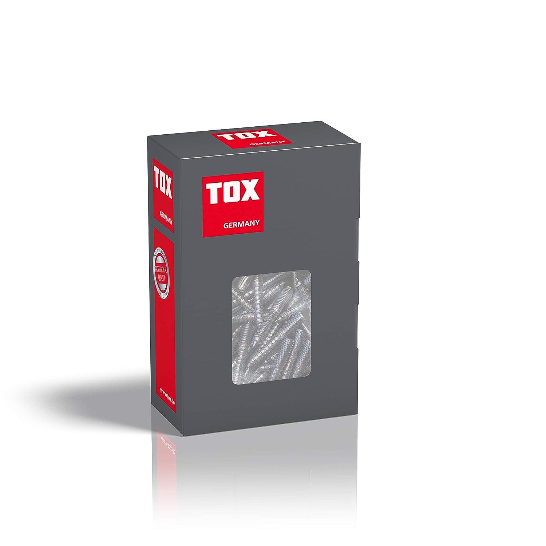 09510155 M8 x 120 mm 100 St/ück TOX Stockschraube Boltix verzinkt