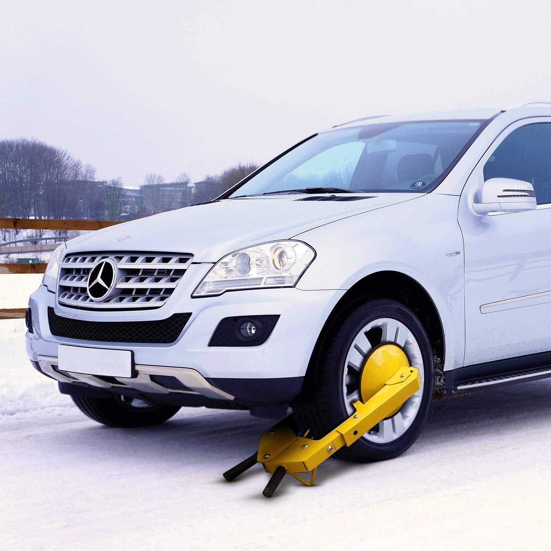 Oanon Wheel Lock Clamp Boot Tire Claw Auto Car Truck ATV Boat Trailers Heavy Duty Secure Size 2 RV