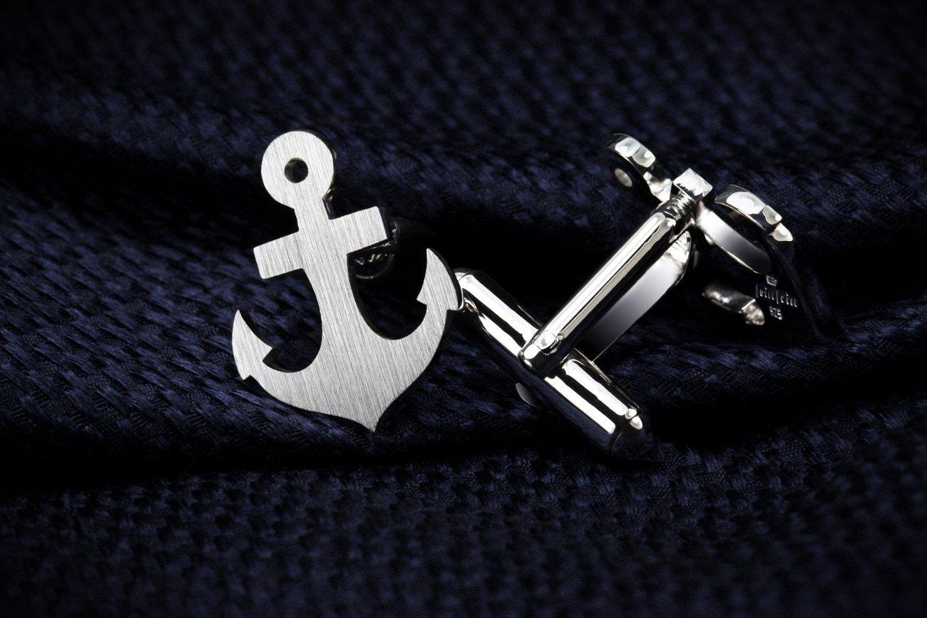 Anchor Cufflinks – Anchor jewerly for men – Valentines gift for men – Beach Wedding Cufflinks for groom