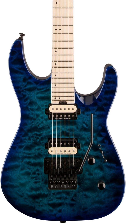 Jackson Pro Dinky DK2QM Chlorine Burst Guitarra Electrica: Amazon.es: Instrumentos musicales