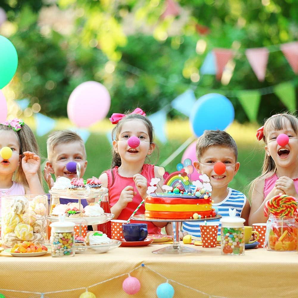 Cake Topper Regenbogen Luftballons Wolken Kuchen Topper Kuchendeko Geburtstag Tortendekoration f/ür Kinder M/ädchen Junge Girlslove talk Tortendeko Geburtstag