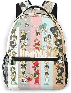 Haikyuu Boy Manga Sports Laptop Backpack Water Resistant Anti-Theft Bag Computer Business Backpacks for Women Men Bookbag