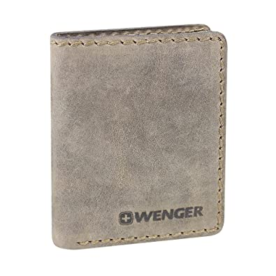 Wenger stonehide leather business card wallet 8 cm brown amazon wenger stonehide leather business card wallet 8 cm brown reheart Choice Image