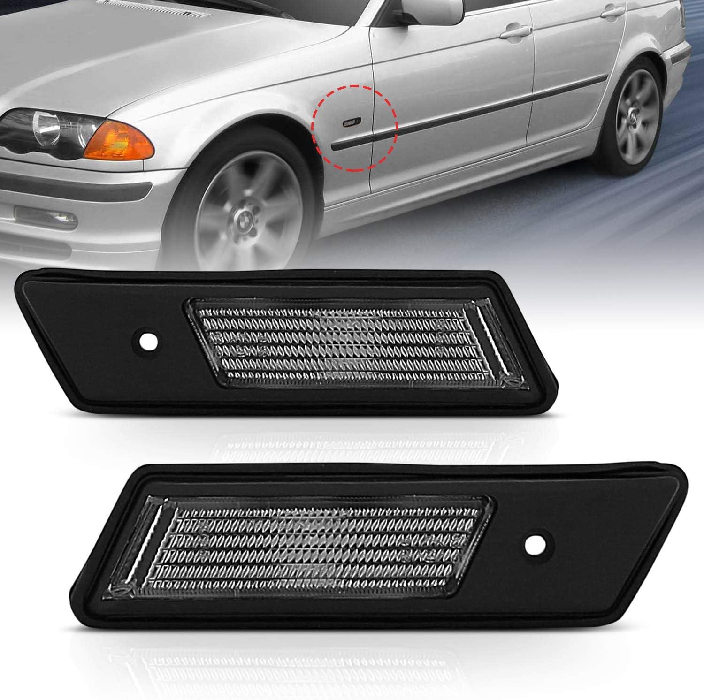 for BMW e38 Side Light w//White Lens Front Fender RIGHT//passenger