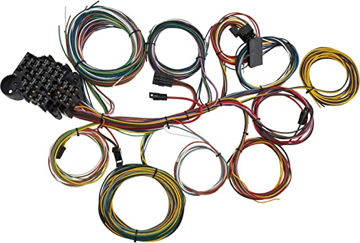 [FPER_4992]  Amazon.com: 22 Circuit Universal Street Rod Wiring Harness w/Detailed  Instructions: Automotive | Best Street Rod Wiring Harness |  | Amazon.com