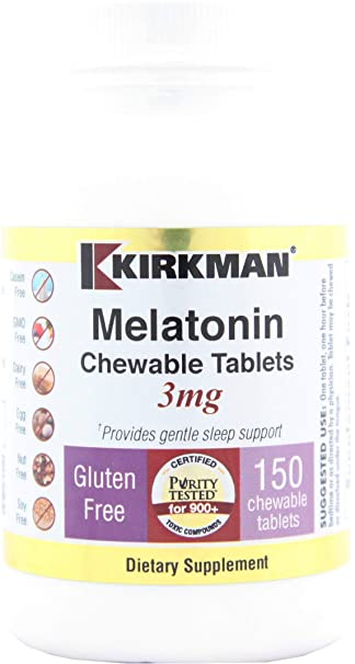 Amazon.com: Kirkman – Melatonina 3 mg., 150, 1, 1: Health ...