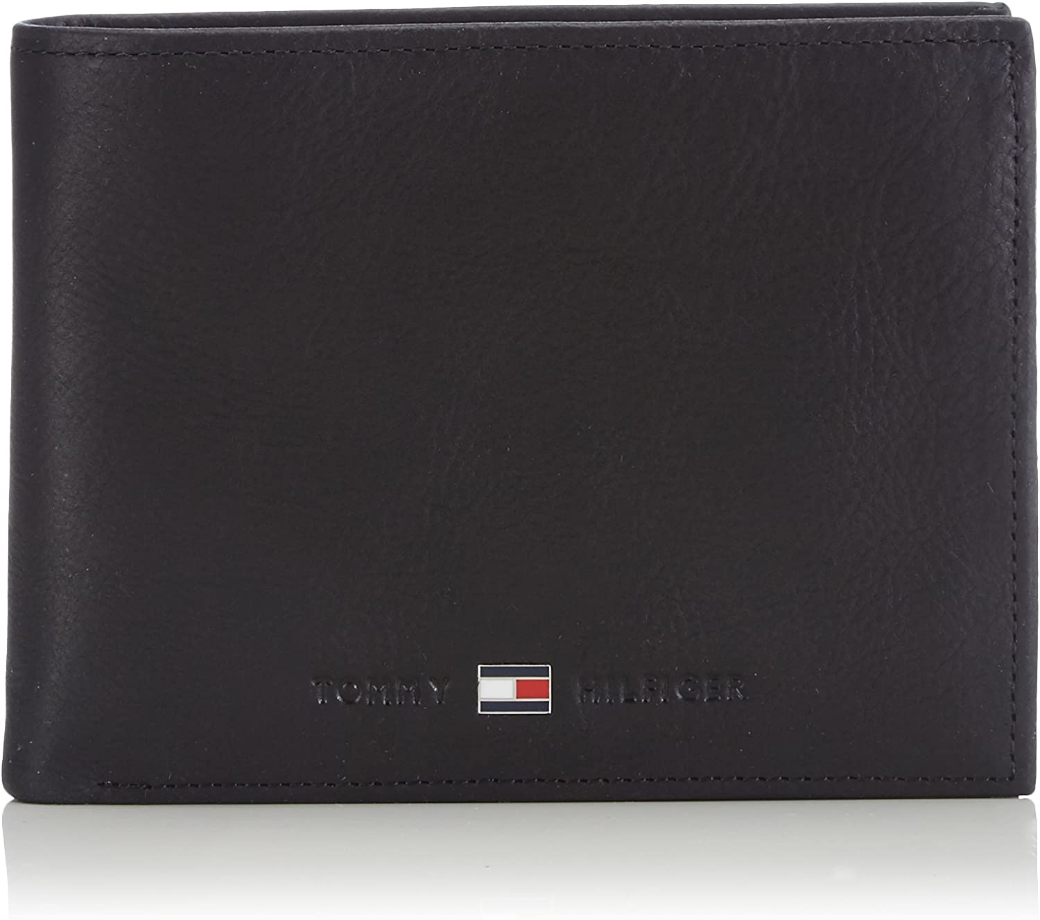Tommy Hilfiger Johnson CC and Coin Pocket, Cartera para Hombre, 14x10x2 cm (B x H x T)
